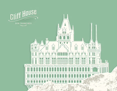 Cliff House Note Card