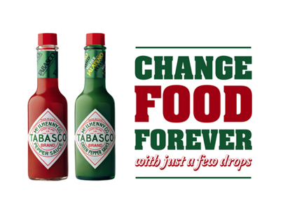 Tabasco - Change Food Forever