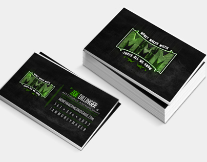 Money Maker Muzik ( Business Cards )