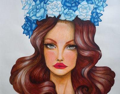 Lana Del Rey - fan art