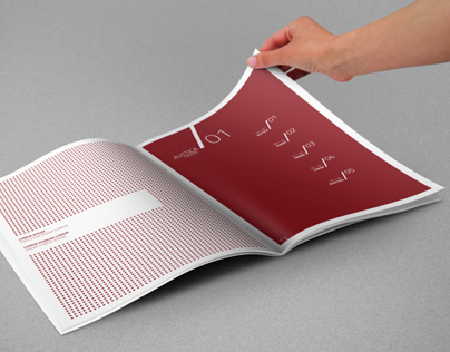 Photorealistic A4 Brochure Mock-up