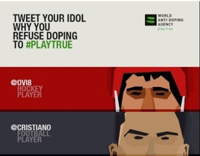 WADA #playtrue / Young Lions Cyber 2013 – Gold Winner