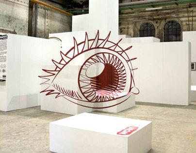 """""""Graffiti Site Specific"""" for Architettura in città 2013"""