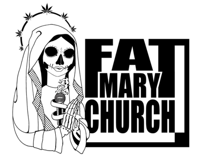 Fat Mary Church - logo design