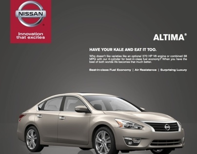 Nissan Magazine Advertisement