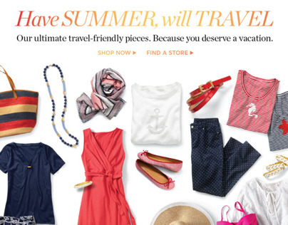 TALBOTS | Have Summer, Will Travel