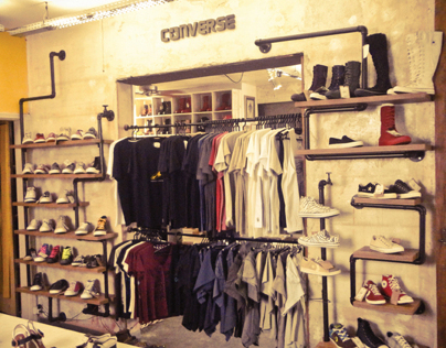 Black Boots - Converse shop in shop