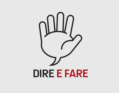 Dire E Fare - Visual Identity