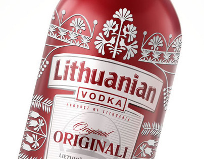 Lithuanian Vodka / Easter Limited Edition 12
