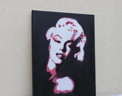 Marilyn Monroe canvas art