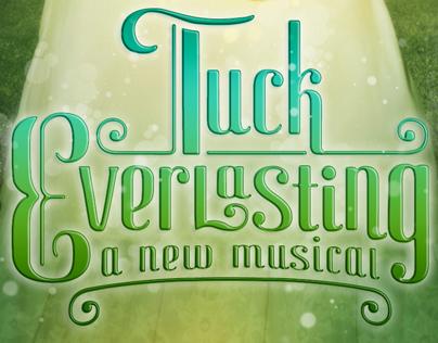 Tuck Everlasting logo designs.