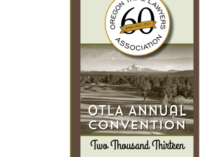 Oregon Trial Lawyer Association Convention Brochure