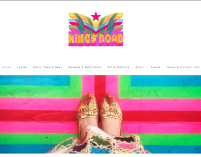 Kings Road Vintage Website 2013