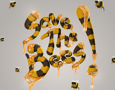 Save The Bees Illustration