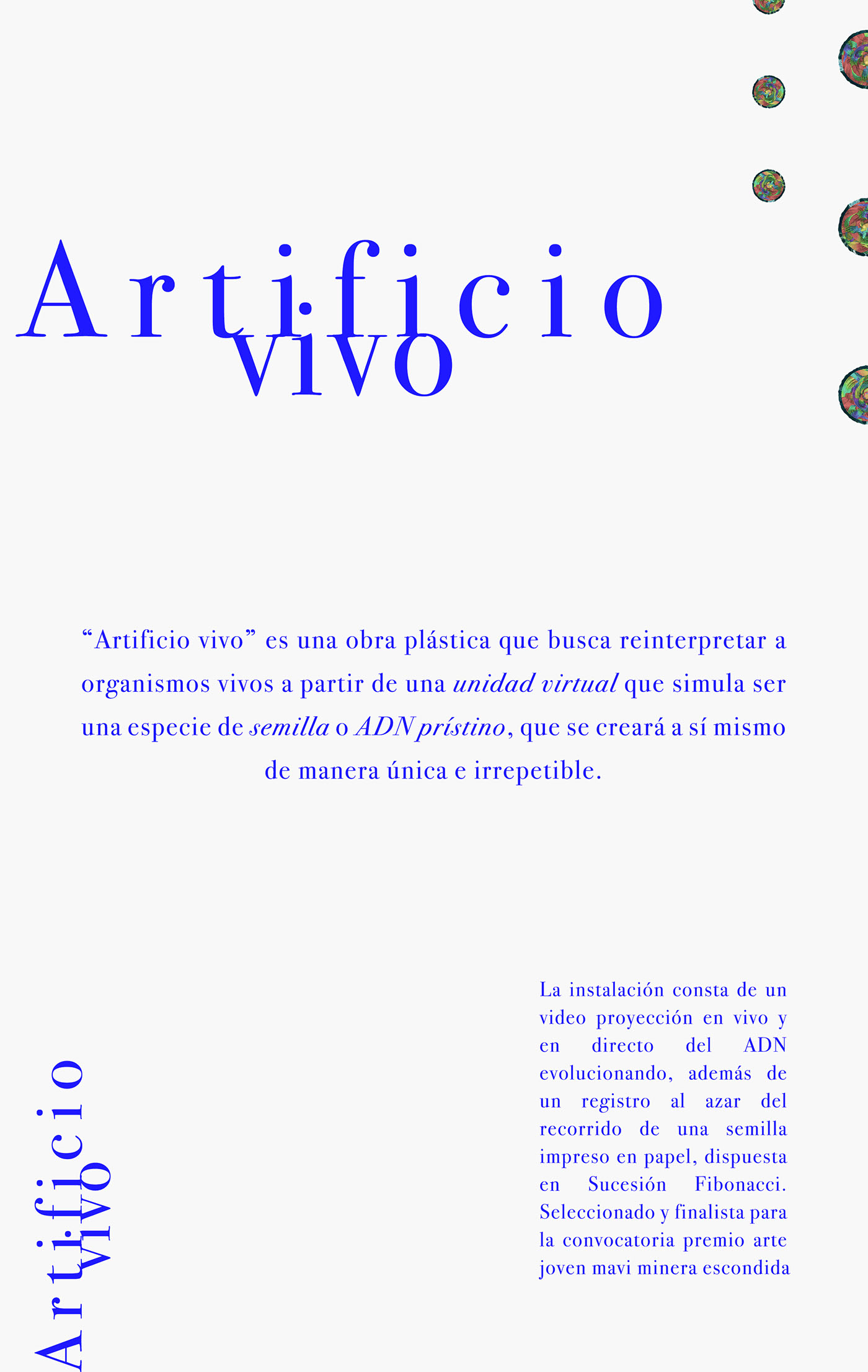 Artificio vivo