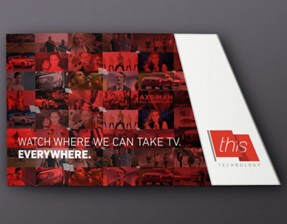 Brochure, Trade show booth and Powerpoint tempate