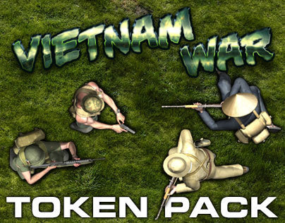 Vietnam War Token Pack