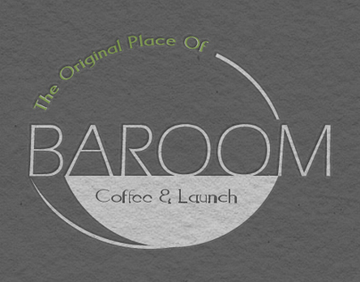 Baroom Coffee ans Lunch Branding Identity