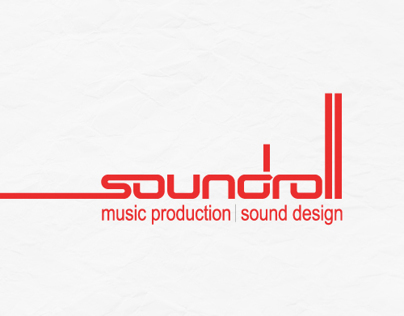 Web design and buissiness cards  for www.soundroll.com