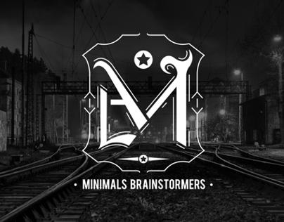 Minimal Brainstormers - A Retro Gothic Brand