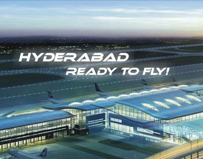 Hyderabad RGIA outdoor campaign