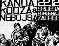Kanda Kodža i Nebojša print design