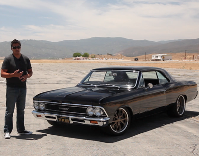 Black Beauty: 1966 Chevelle Malibu - /BIG MUSCLE