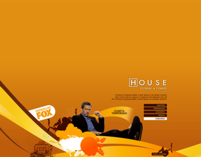 Microsite FOX | Serie House