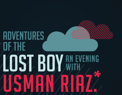 Adventures of the Lost Boy | An evening with Usman Riaz