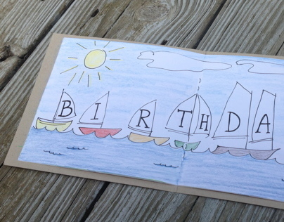 July Birthday Card
