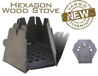 Vargo Outdoors Titanium Hexagon Wood Stove