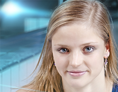 Simona Baumrtova The best European swimmer