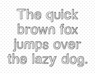 Gizem's Sketch Font