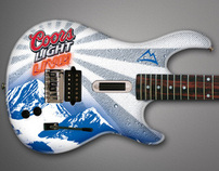 Coors Light Live® Guitar Hero Promotion