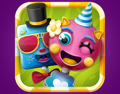 Cake Pop Party Game Icon