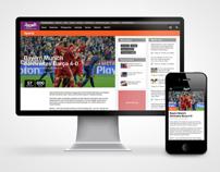 Al Arabiya web & app design