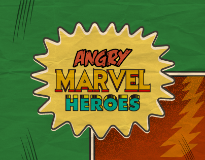Angry Marvel Heroes