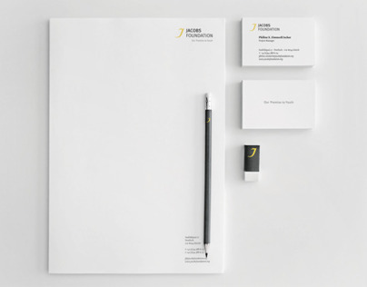 Jacobs Foundation — Brand Identity