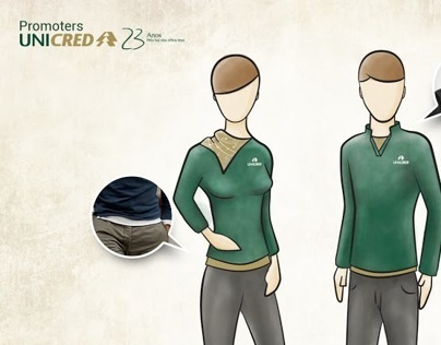 Uniforme Promoters Unicred 23 Anos