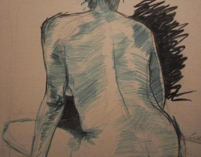 Life Drawings by Ciara Slevin