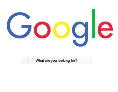 Google home page re–brand.