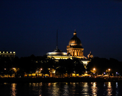 One night in St.Petersburg