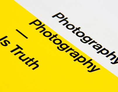 Photography is Truth