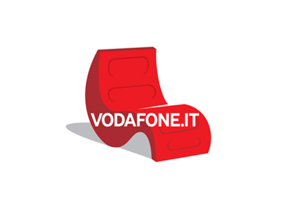 Icons of Vodafone armchair campaign
