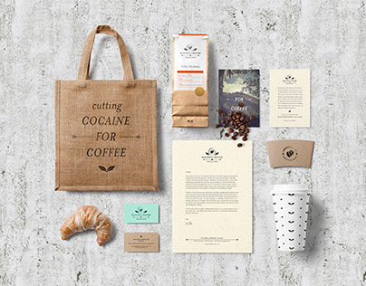 Redeeming Grounds Coffee Identity & Branding