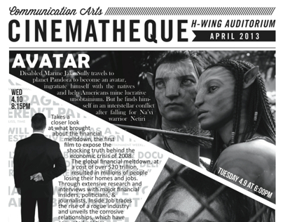 Cinematheque Poster