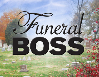 Funeral Boss Title Treatment