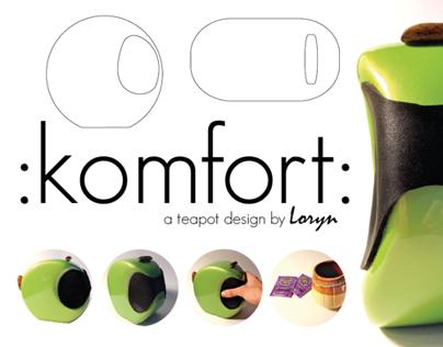 : komfort : A Simple Teapot Design