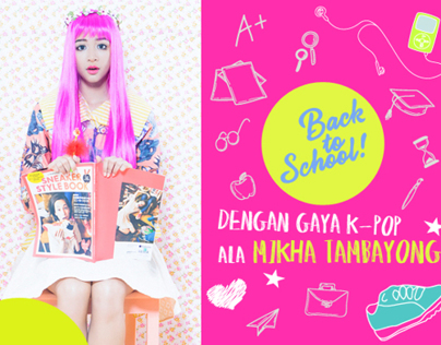 Back To School With Mikha Tambayong