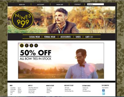 Nines: Website Redesign